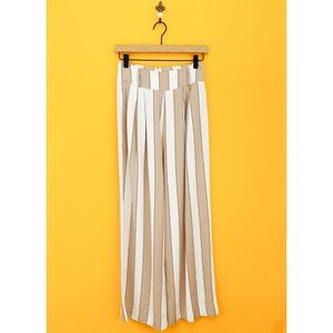 Capulet Lucy Wide Striped Wide Leg Pants High Rise